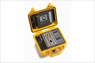 9009 Industrial Dual-Block Thermometer Calibrator (yellow case)