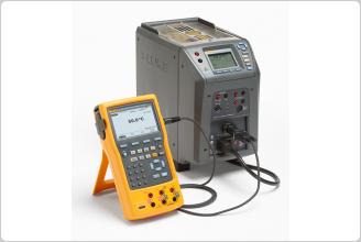 Fluke  9142 Field Metrology Well & Fluke 754 Documenting Process Calibrator