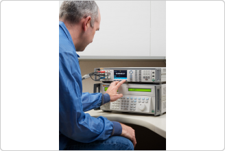 8588A Reference Multimeter with Calibration Technician