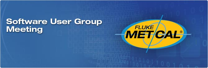 Fluke Calibration Software User Group Meetings