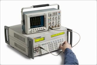 5522A Multi-Product Calibrator (with oscilloscope)