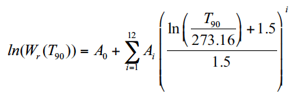 Reference Function Equation
